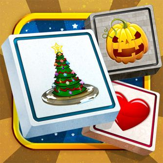 App Store Icon - Holiday Mahjong Deluxe
