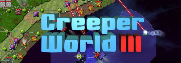 Game Logo - Creeper World 3