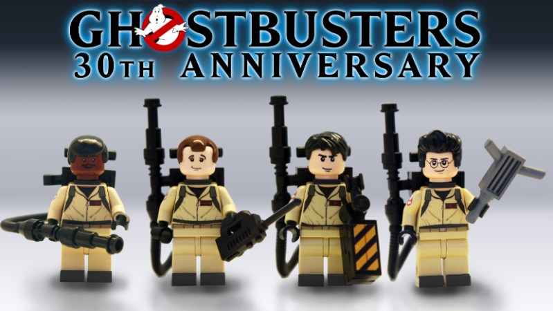 Ghostbusters team and logo