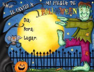 Invitación para fiesta de halloween gratis - 2