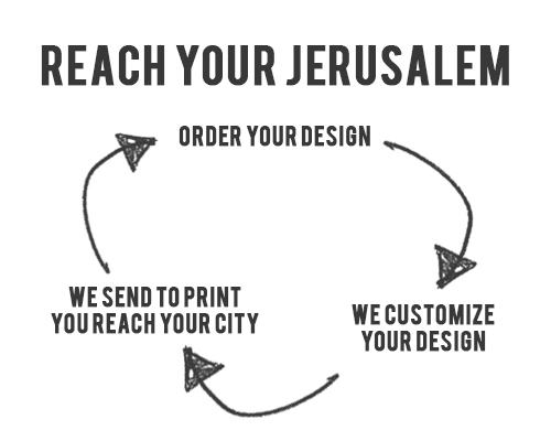 Our Process To Reach Your Jerusalem