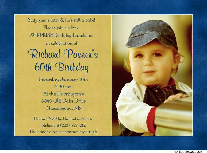 free 60th birthday invitation templates