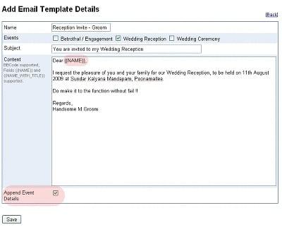 Marriage Invitation Formats  Invitation Formats