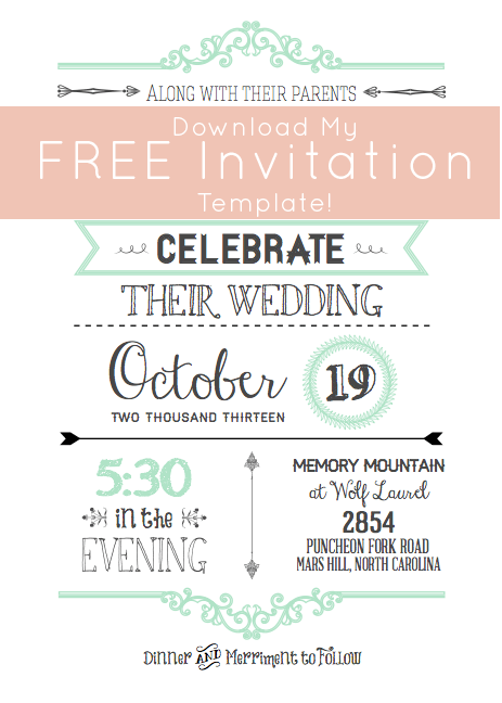 Online Free Wedding Invitations Templates – Invitation Templates Free Online