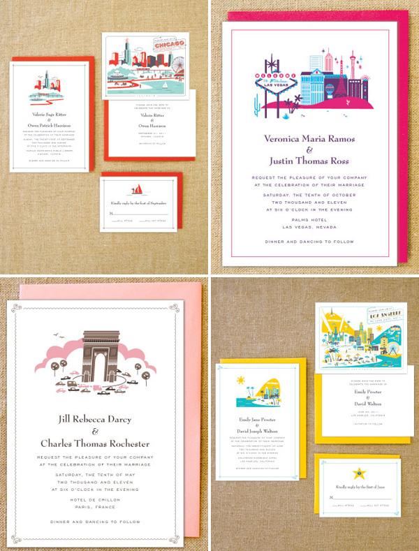 Lab Partners Destination Wedding Invitations Invitation Crush