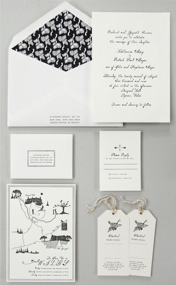Purple And Gray Watercolor Wash Wedding Invitations By Darling Pearl