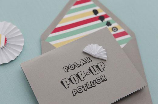 Polar Pop Up Baby Shower Invitations Invitation Crush