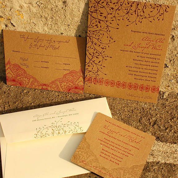 spectacular Indian Wedding Invites