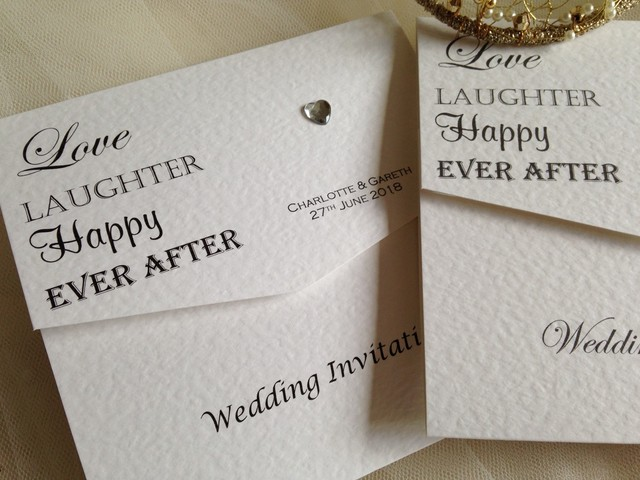 Love Laughter Wedding Invitations 150 Affordable