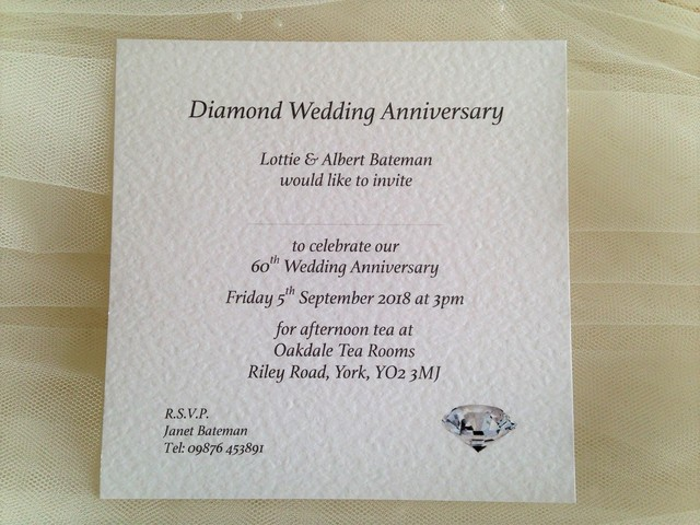 Square Wedding Anniversary Invitations For Your 25th