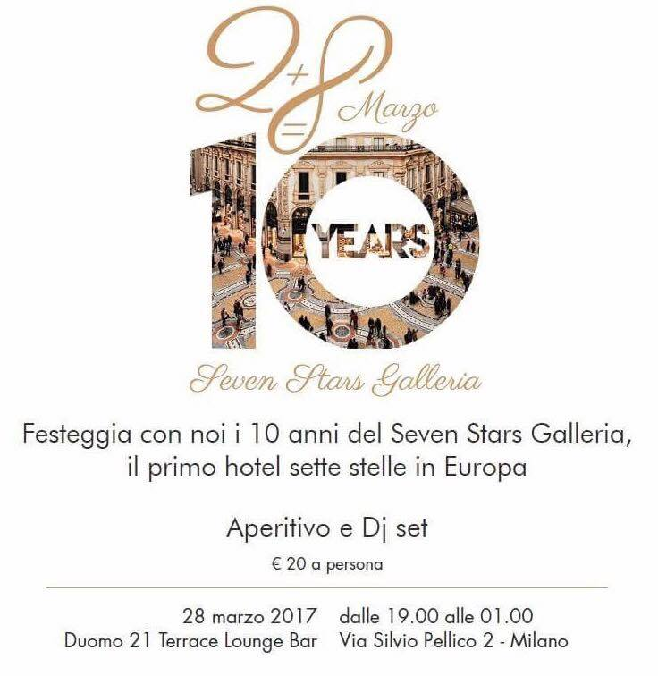 28.03 Anniversary 10 Years Seven Stars Galleria @ Duomo21