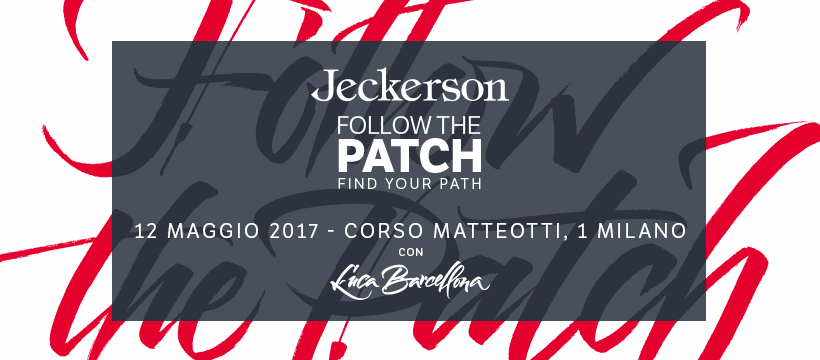 12.05 Jeckerson Party – Follow the Patch , find your path
