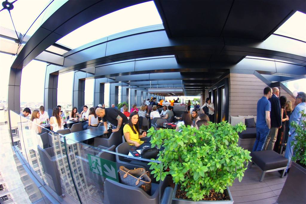 22.09 Rooftop LaGare Hotel for MILAN Fashion WEEK