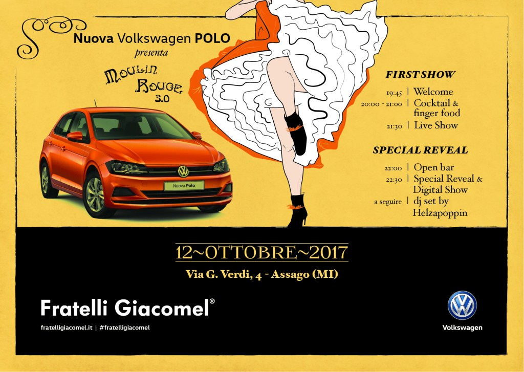 Launch New POLO – Special Event Moulin Rouge 3.0