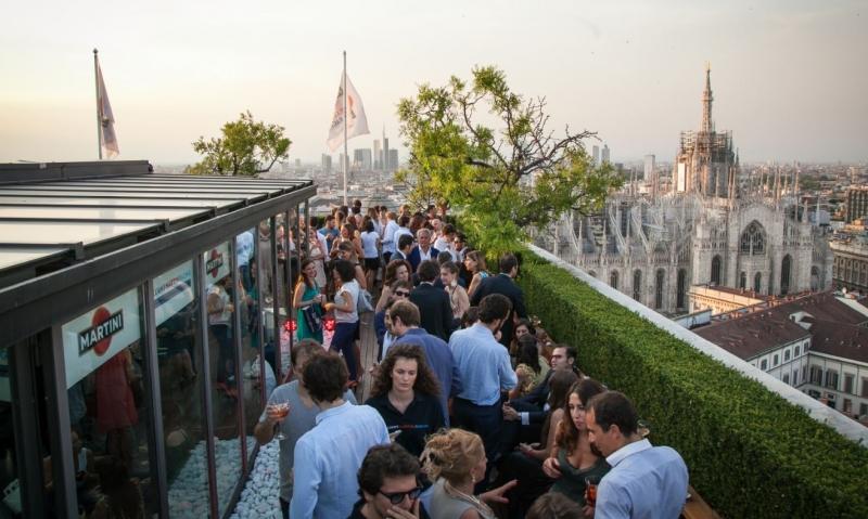29.06 – WHITE PARTY Vista Duomo   Terrazza Martini