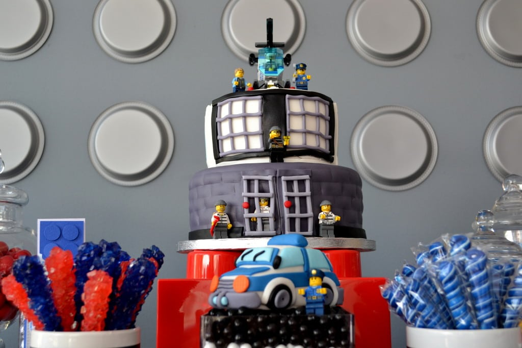 Lego Police Birthday Invitation
