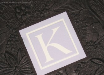 Kimberly Wedding Invitation