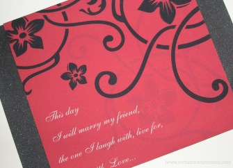 Kari Wedding Invitation