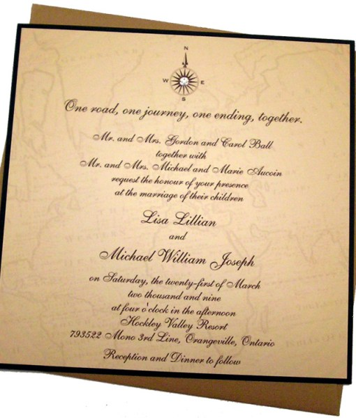 Lisa Wedding Invitation