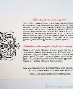 Invite Set Directions