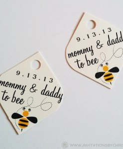 Bumblebee Tag | baby announcement, bumblebee,