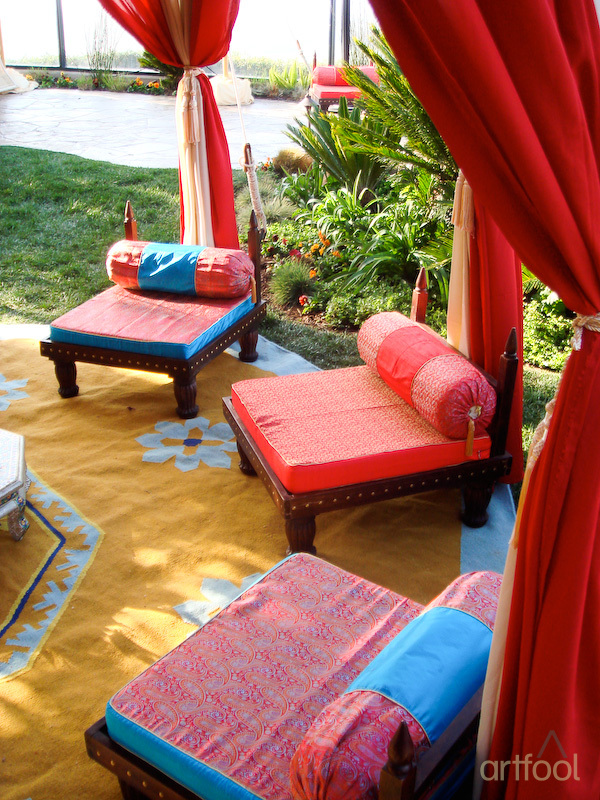 Moroccan Seating Arrangement