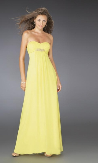 yellow bridesmaid dress wedding