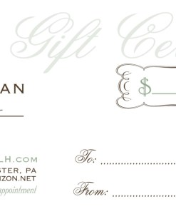 gift certificate party planning shop