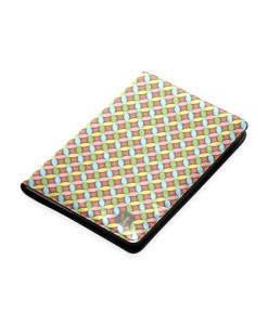 journal design mid century modern circles pattern multi color