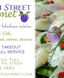 print ad advertisement for catering company