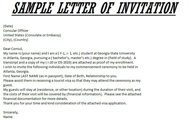 Dinner Party Invitation Letter | Ideasidea