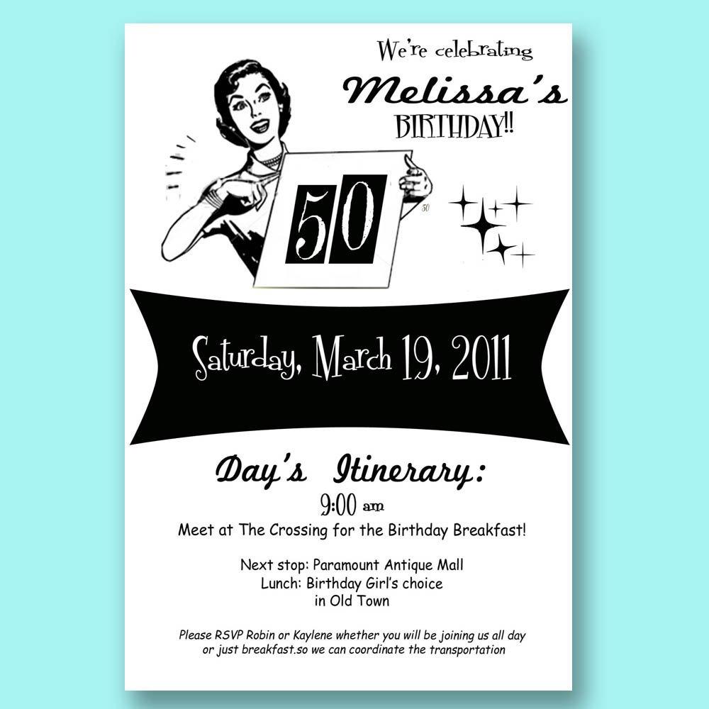 Funny Birthday Invitations Men
