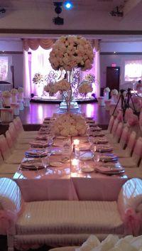 Sweet Sixteen Table Set Up