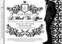 Black Tie Affair Invitations