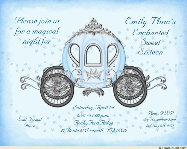 cinderella party invitation wording Cogimbous