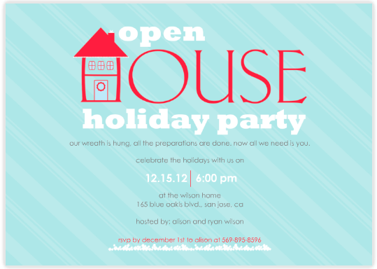 Holiday Open House Invitation Wording Thebridgesummit Co