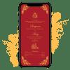Invites Cafe Hindu Wedding Invitation 001