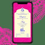 Invites Cafe Hindu Wedding Invitation 008