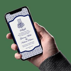 Muslim Invitation Card - Invites Cafe
