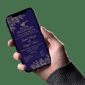 Sikh Wedding Invitation 001