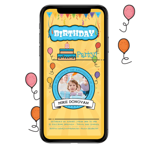 Birthday Invitation 006