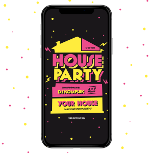Invites Cafe House Warming Party Invitation 001