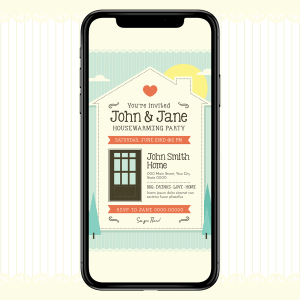 Invites Cafe House Warming Party Invitation 005