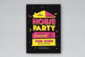 House Warming Party Card