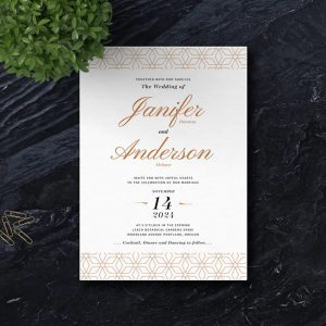 Christian Wedding Invitation Print Ready 007