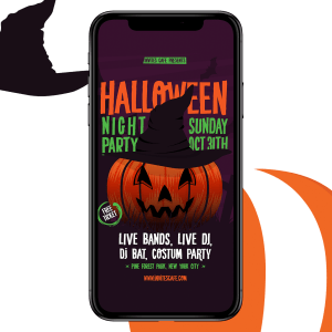 Invites Cafe halloween product