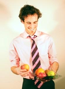 businessman nutrition consultant