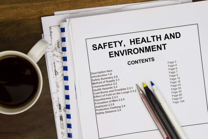 Health and safety requirements are one of the most important part in the small business employment contract