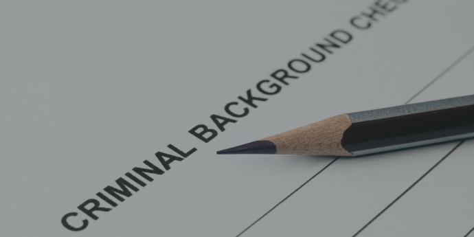 Do background check before employment