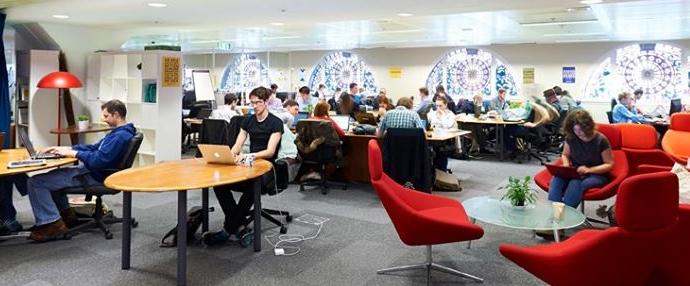 London Coworking Innovation Warehouse